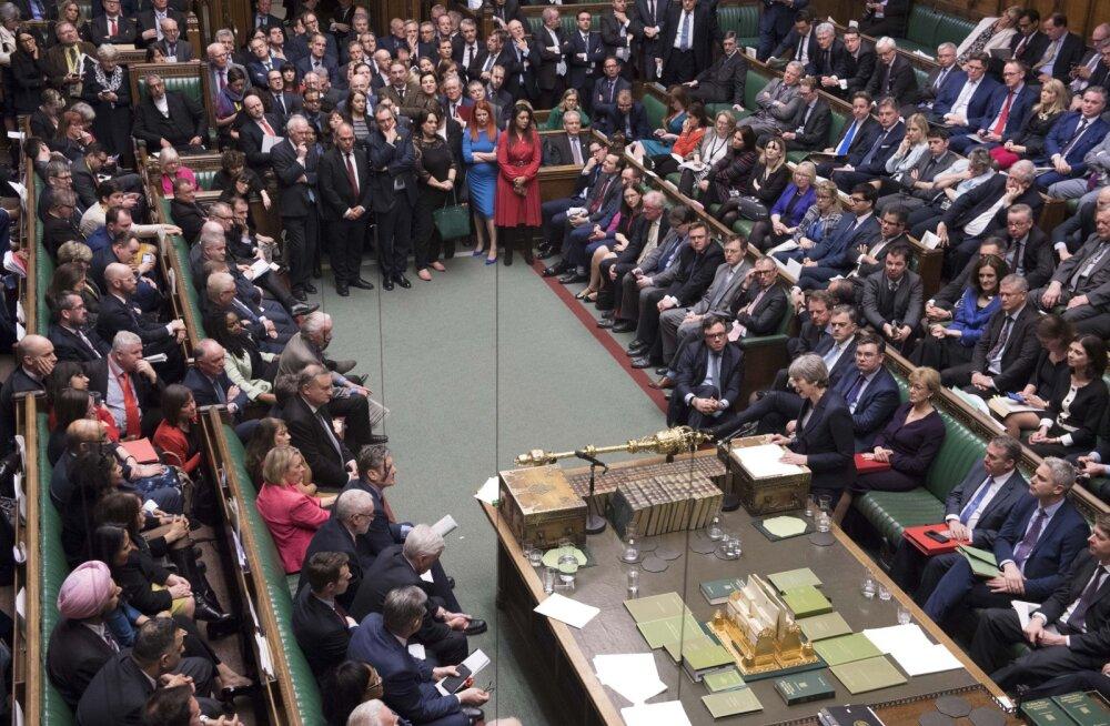 Suurbritannia parlament hääletab Brexiti ajapikenduse üle, kokkulepet püütakse ka kolmas kord läbi suruda