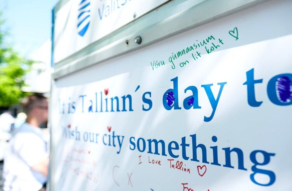Soovitahvlid Tallinna kesklinnas