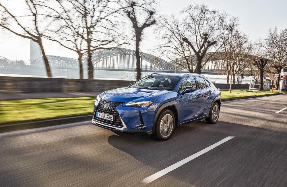 Lexus UX 300e jõuab tänavu müügile: aku garantii kuni 1 mln km läbisõitu