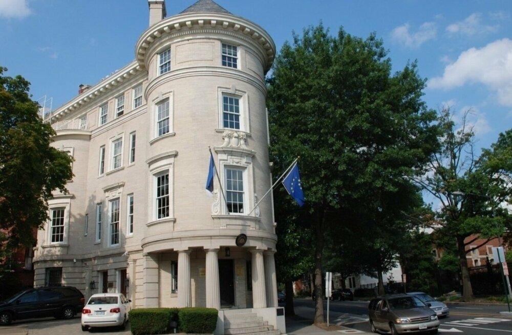 Ремонт эстонского посольства в Вашингтоне обойдется в 8 миллионов