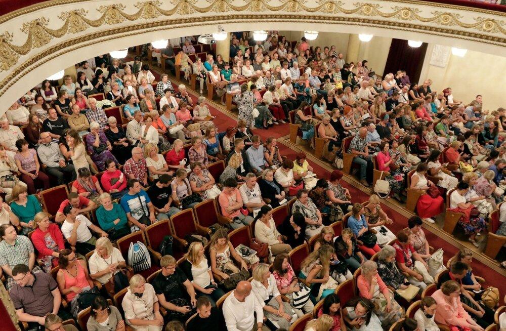 Vladimir Megre - lugejakonverents Elu loomine - Vene Kultuurikeskuses