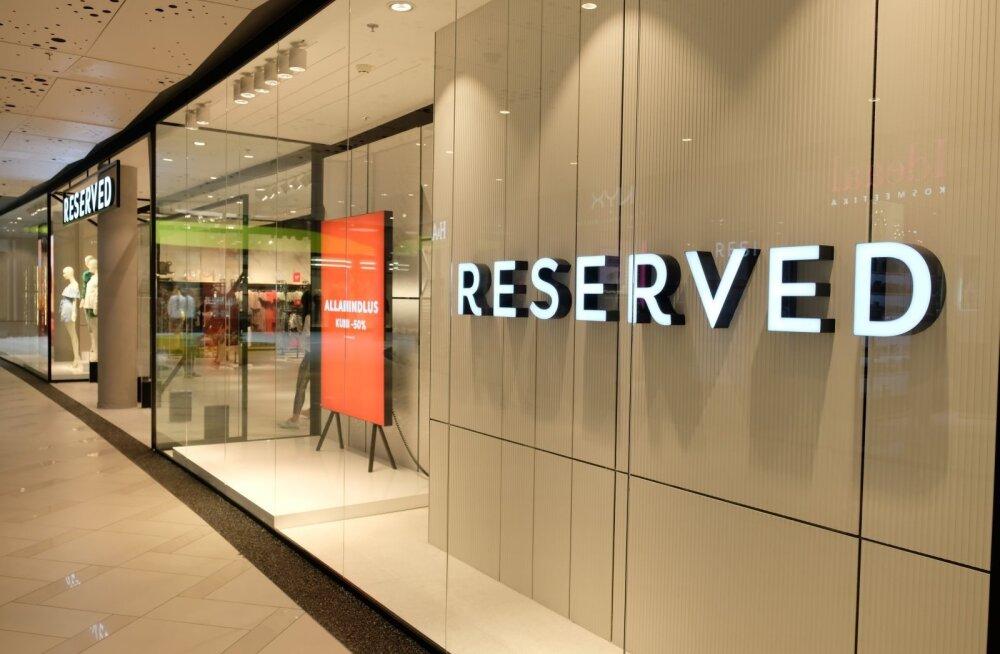 В торговом центре Ülemiste открылся огромный магазин Reserved