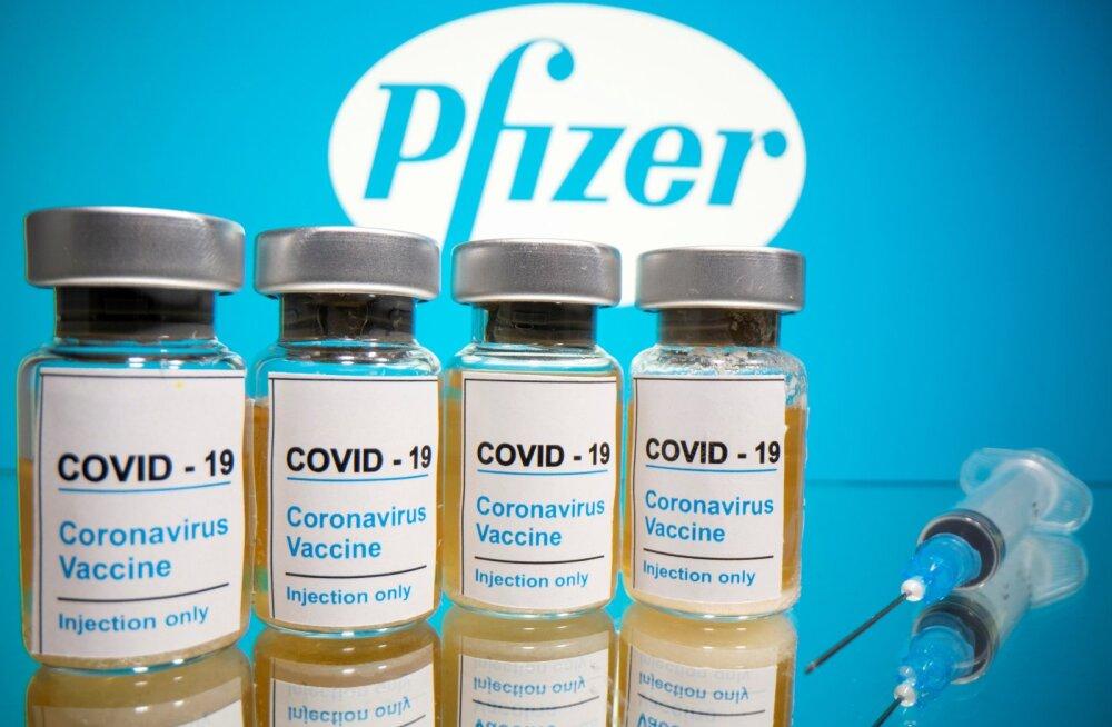 Pfizeri koroonavaktsiini esialgsed katsetulemused on paljulubavad.