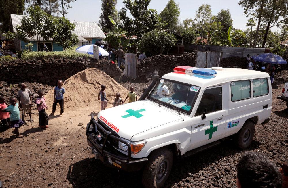 Kongos sai rongi rööbastelt välja sõitmise tõttu surma vähemalt 50 inimest