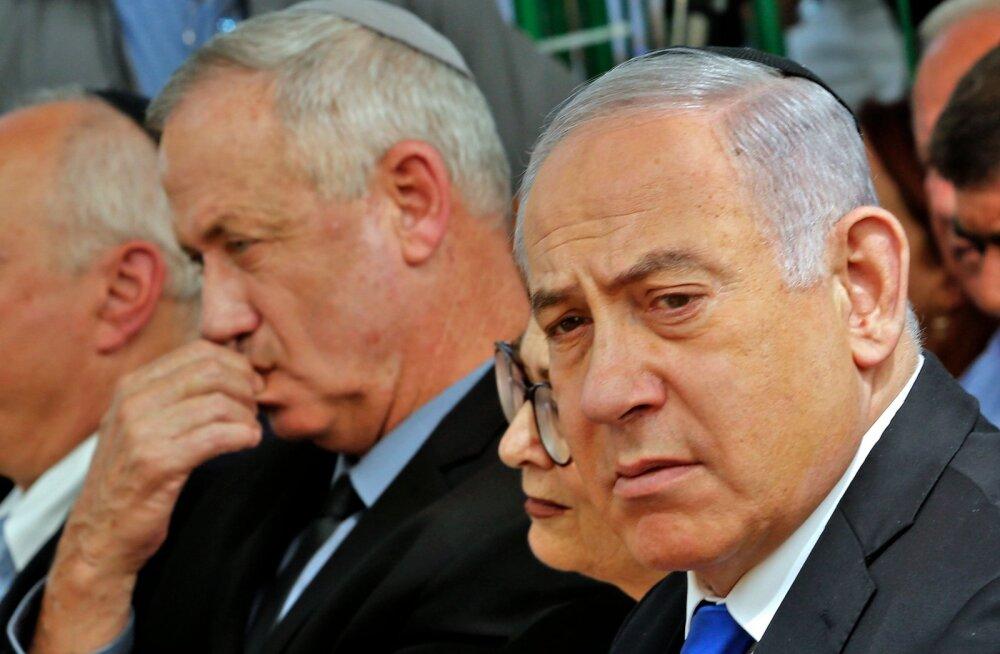Iisraeli peaministril Netanyahul ei õnnestunud valitsust moodustada, kätt saab proovida tema rivaal Gantz
