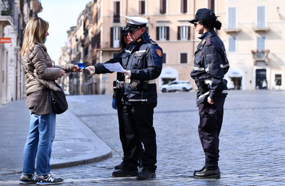 Itaalias kasvas koroonaviiruse surmajuhtumite arv päevaga 475 võrra