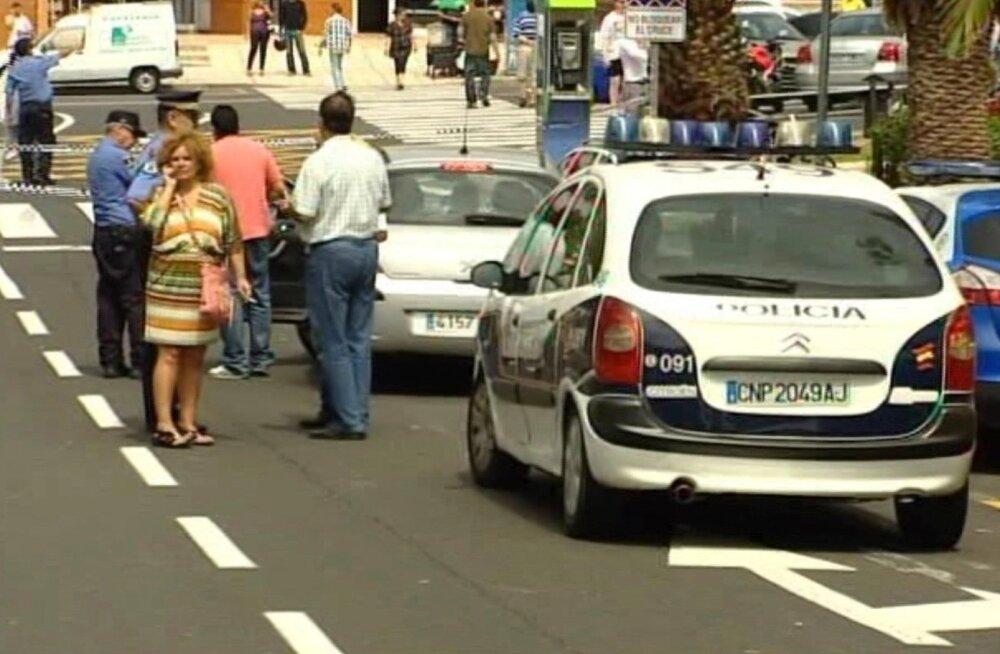Tenerifel vahistati Soomes ja Eestis tagaotsitav Eesti kodanik