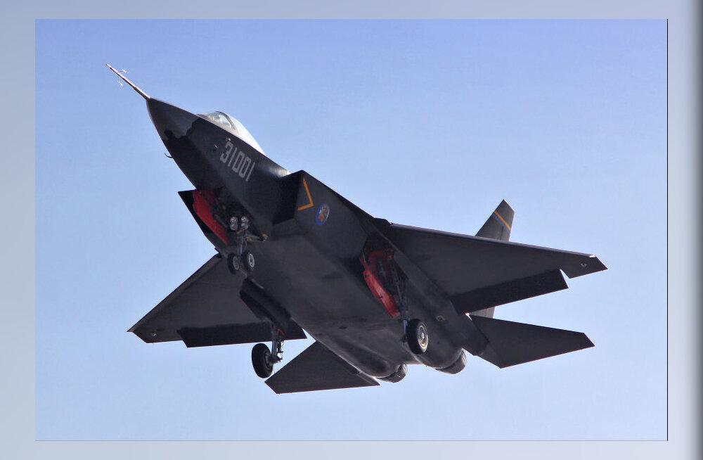Shenyang J-31 - viienda põlvkonna hävituslennuk Hiinast