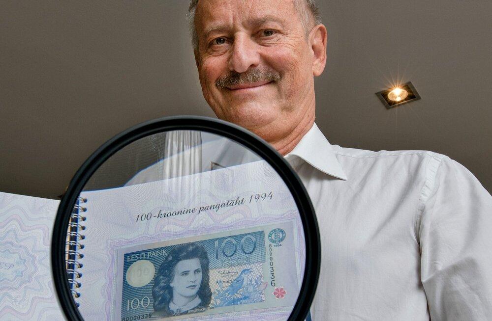 Eesti sajakroonine, eriti oma esimeses variandis, oli ilusam raha, kui on praegune euro.