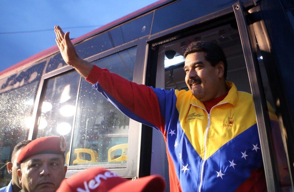 Venezuela president teatas USA juhitud riigipöördekatse nurjamisest