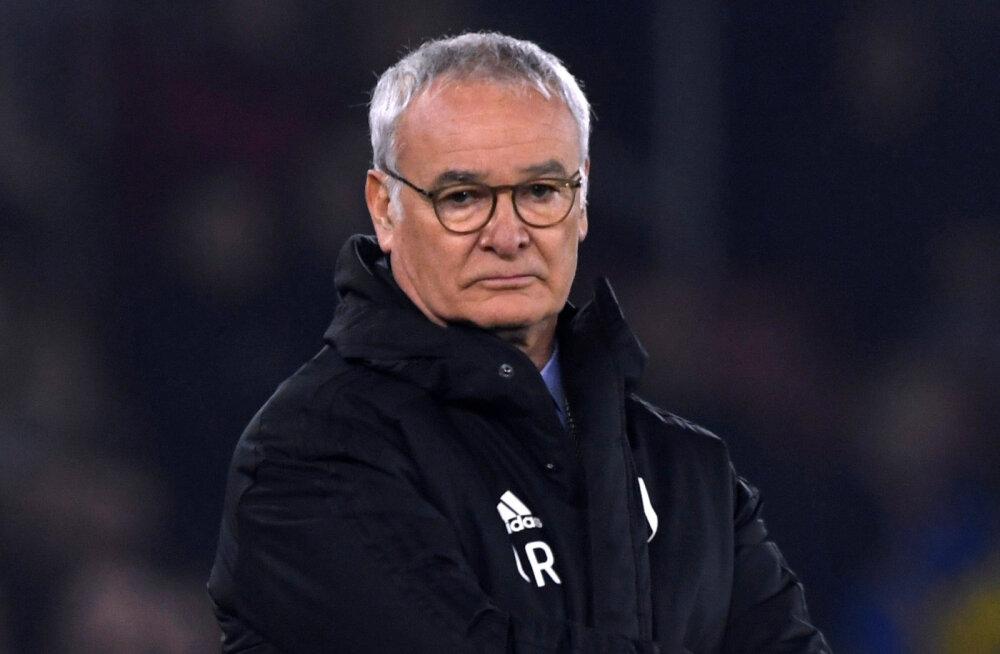 Kõigest kaheksa päeva tagasi Fulhamist lahti lastud Claudio Ranieri asus Itaalia tippklubi peatreeneriks