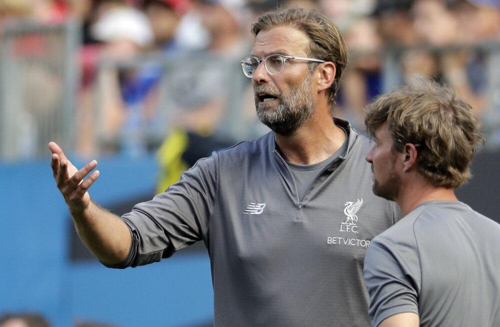 Jürgen Klopp on mures Liverpooli keskkaitse pärast