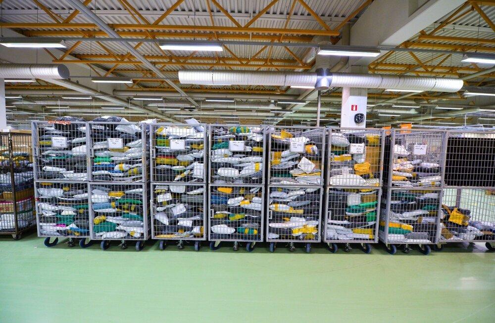 Mullu jõudis Omniva kaudu Eesti inimesteni üle viie miljoni Hiinast tellitud paki.