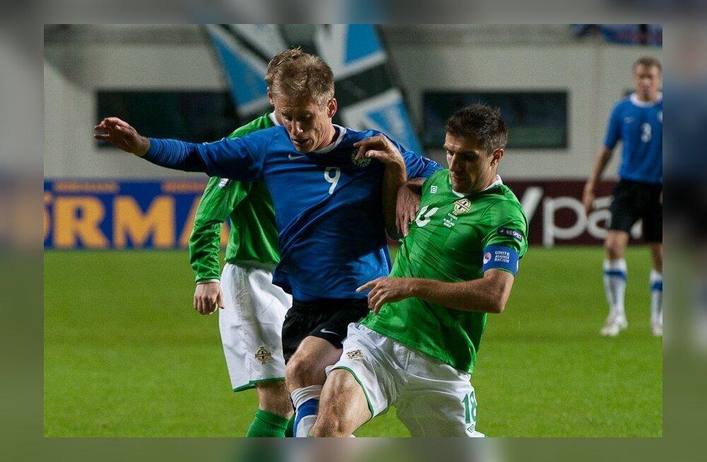 Tarmo Kink mängus Põhja-Iirimaaga