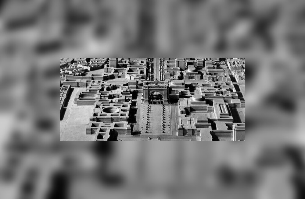 Miski, millest me pääsesime: Hitleri hiigelpealinn Welthauptstadt Germania
