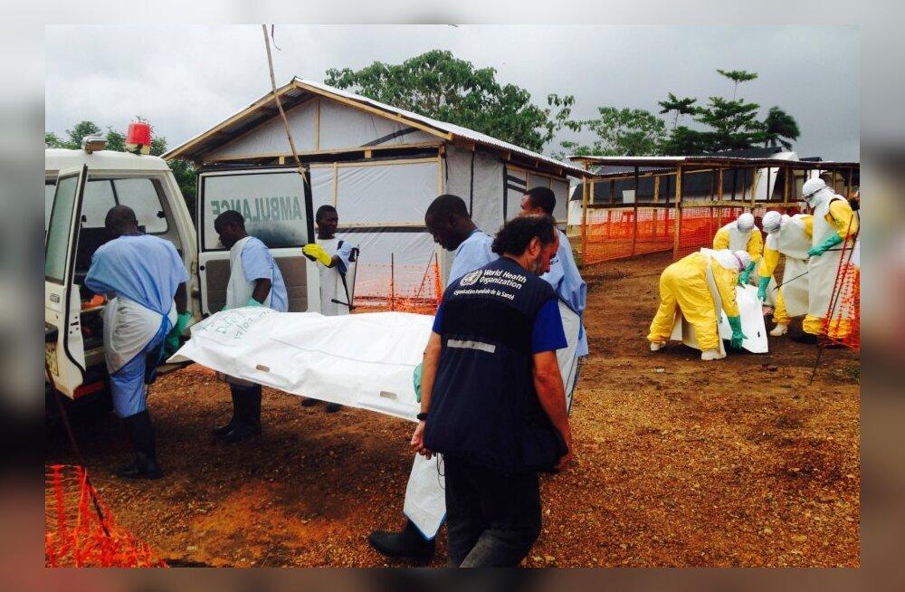 Libeeria president kuulutas ebolaepideemia tõttu välja eriolukorra