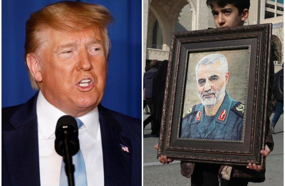 USA korraldas president Trumpi käsul Bagdadis rünnaku, milles hukkus Iraani mõjukas kindral Qassem Soleimani. Nii USA kui ka Iraan on andnud märku, et on löögivalmis.