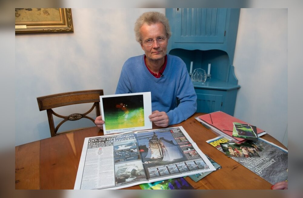 """Автор единственных фото с тонущего парома """"Эстония"""" рассказал, как он выжил"""