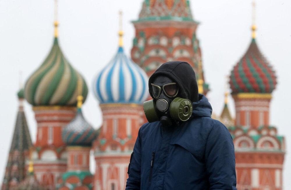 В Москве из-за коронавируса вводится режим спецпропусков