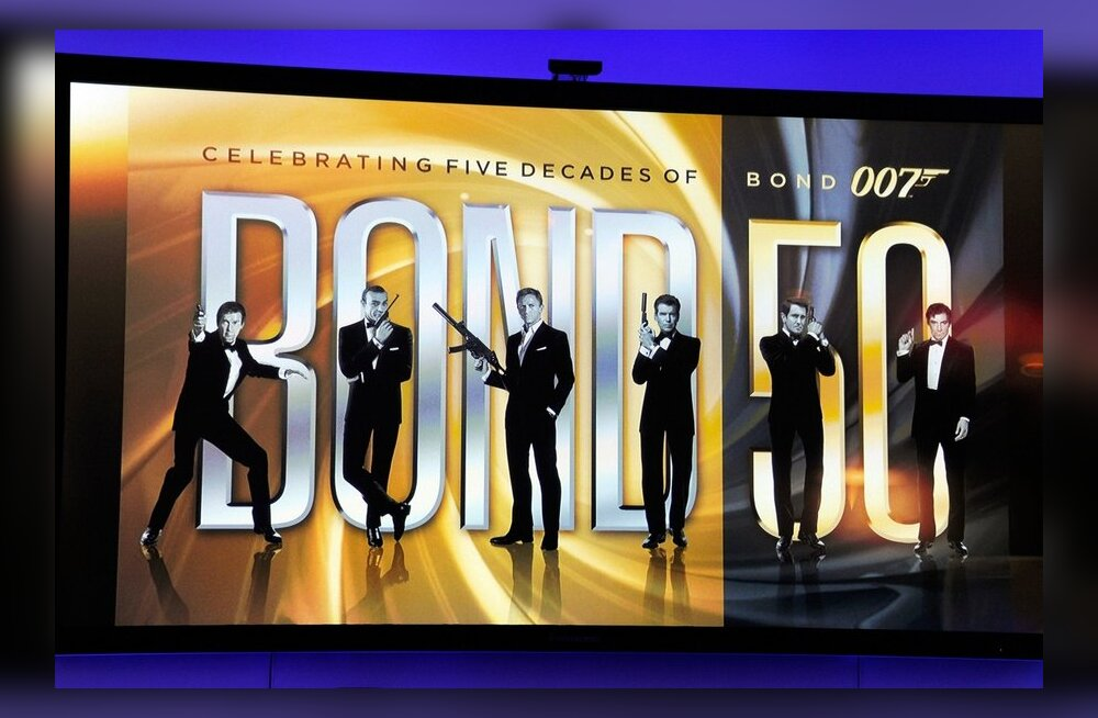 VIDEO: Oodake filmi-Bondi 50. juubeliks eriti magusat Blu-ray kogumikku