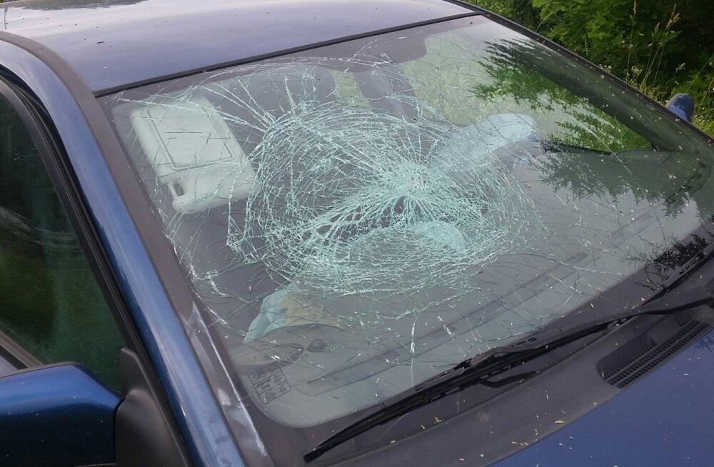 vallas liiklusõnnetus. Tallinna-Tartu maanteel Anna lähedal