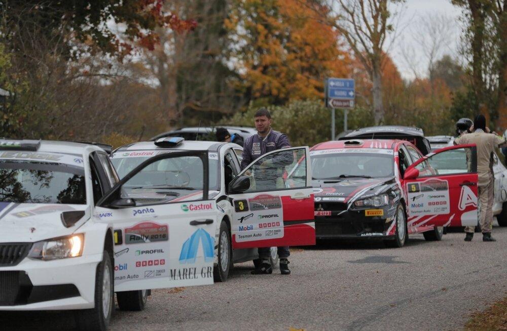 Saaremaa ralli teine võistluspäev