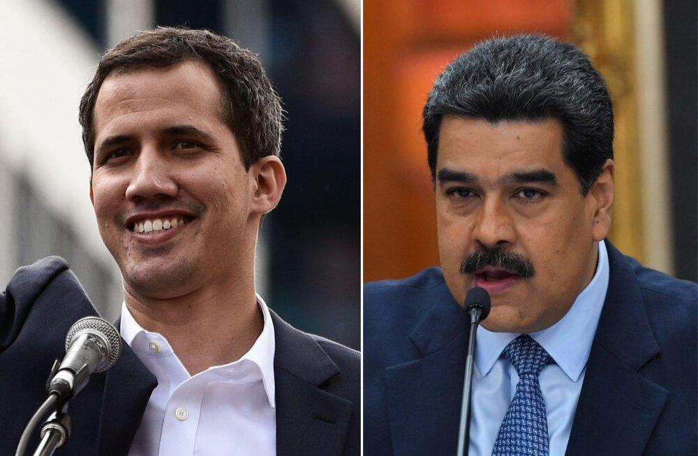 End Venezuela presidendiks kuulutanud Guaidó on valmis kaaluma amnestia andmist Madurole, kui ta võimu loovutab