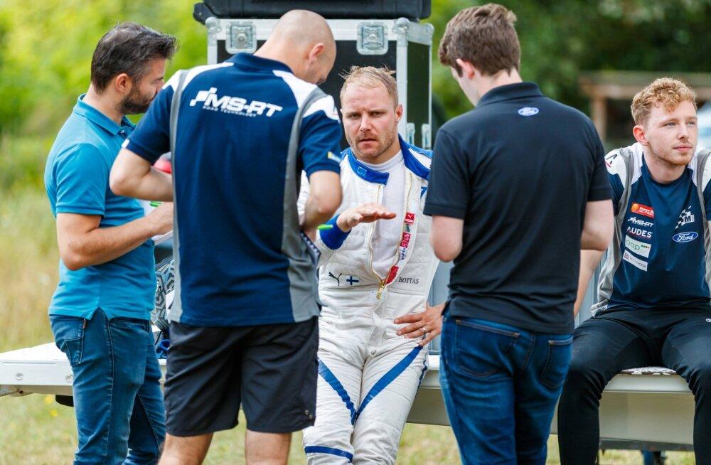 Karjääri kolmandaks ralliks valmistuv Valtteri Bottas hakkab rinda pistma WRC-ässaga