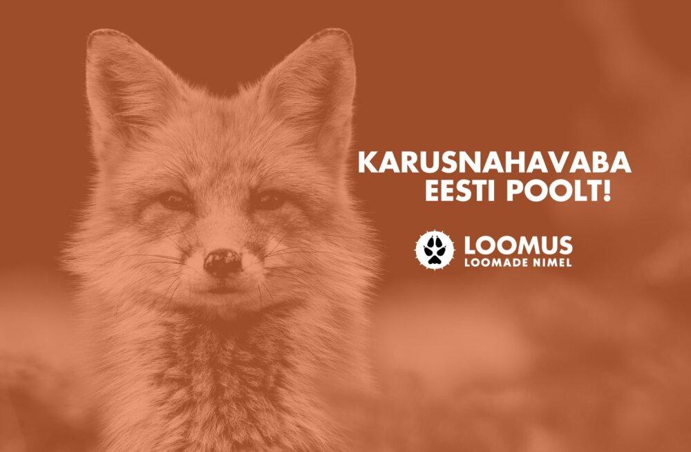 Loomus kutsub Facebooki profiilipildi raamiga näitama toetust karusanahavabale Eestile