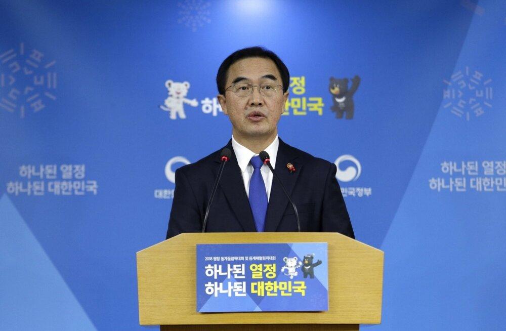 Lõuna-Korea pakkus Põhja-Koreale läbirääkimisi olümpiaalase koostöö üle