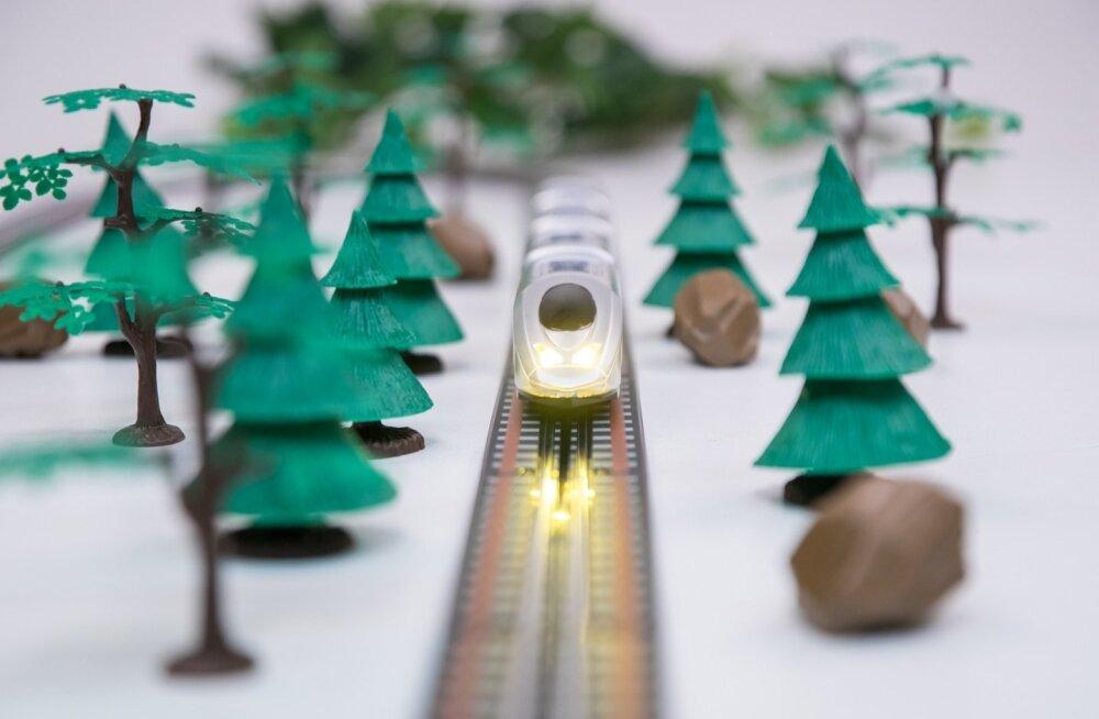 Rail Balticu ehitamiseks vajalike maade kokkuostmine jätkub, ostma peab 565 hektarit maad