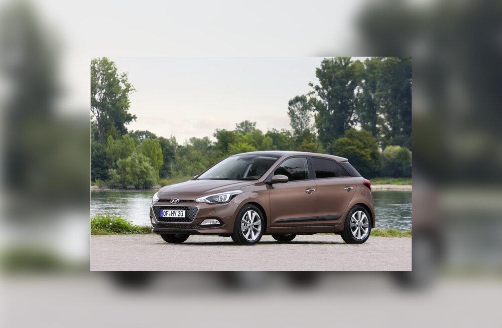 Hyundai tutvustas väikeauto i20 uut põlvkonda