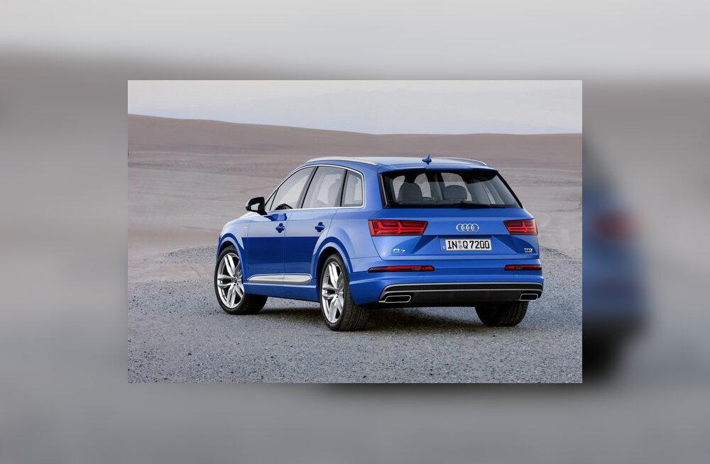 Kergem, kuid pearuumi rohkem: Audi avaldas fotod teise põlvkonna maasturist Q7