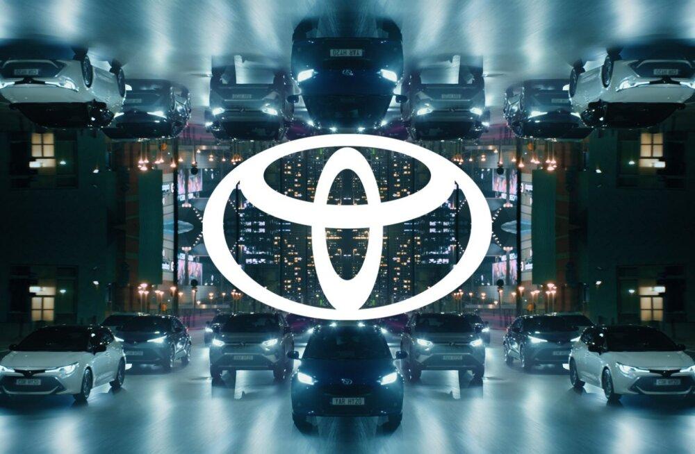 Toyota võtab Euroopas kasutusele uue logo