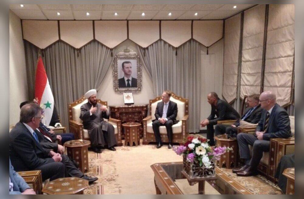 AfD poliitikud kohtusid Damaskuses Süüria suurmuftiga.