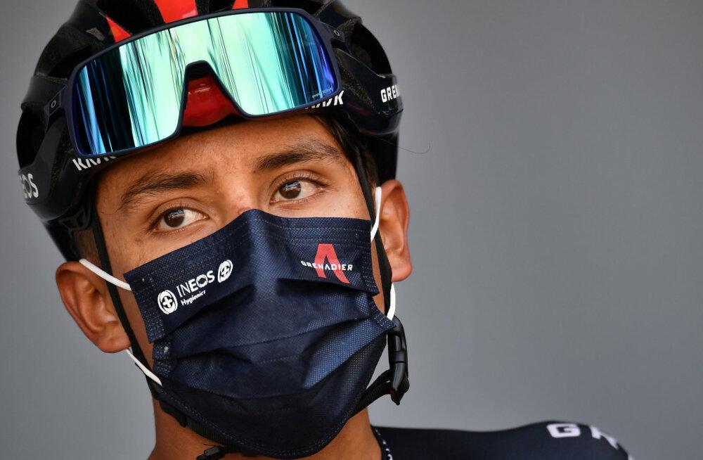Mullune võitja Egan Bernal katkestas Toure de France'i