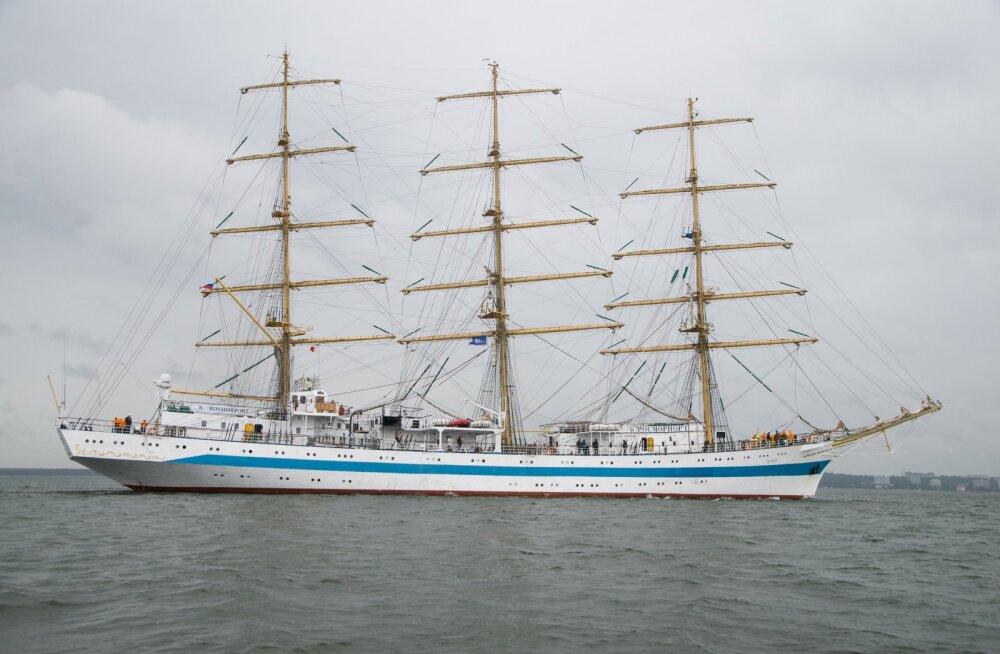 Suured purjelaevad Tallinna Merepäevadel 2017.