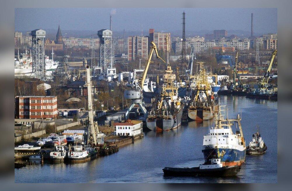 Kaliningradi linnavalitsus andis tormi tõttu koolilastele vaba päeva