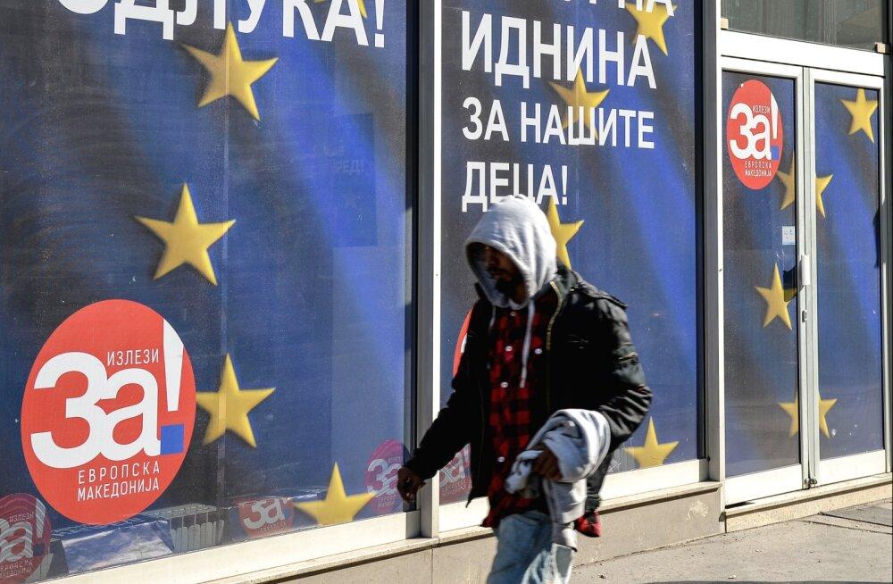 Makedoonlased otsutavad Euroopa Liitu pääsemisest mõeldes nime üle