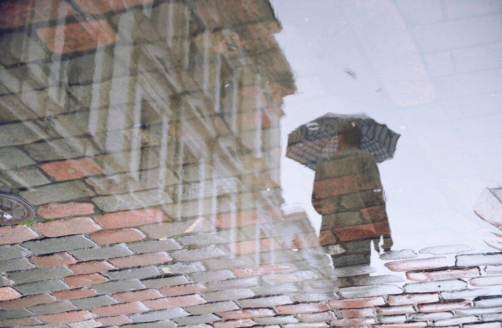 Täna on Eestis jälle vihma ja äikest oodata
