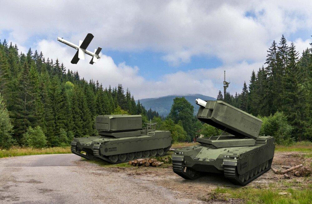 Eesti loodud mehitamata sõidukid varustatakse ründedroonidega