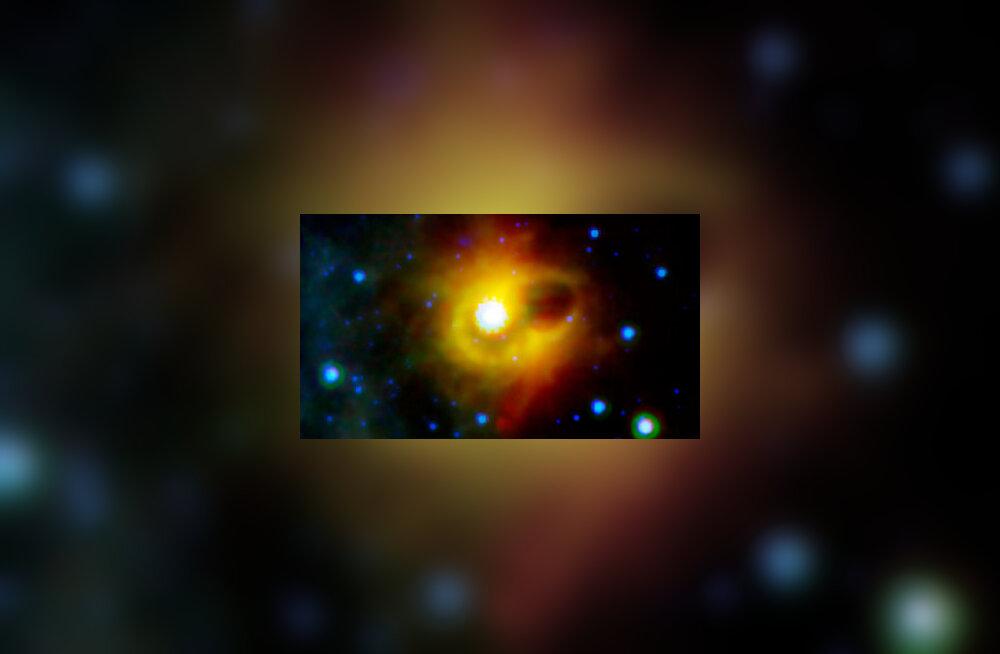 Supernoovade eredust võivad tõsta magnetarid