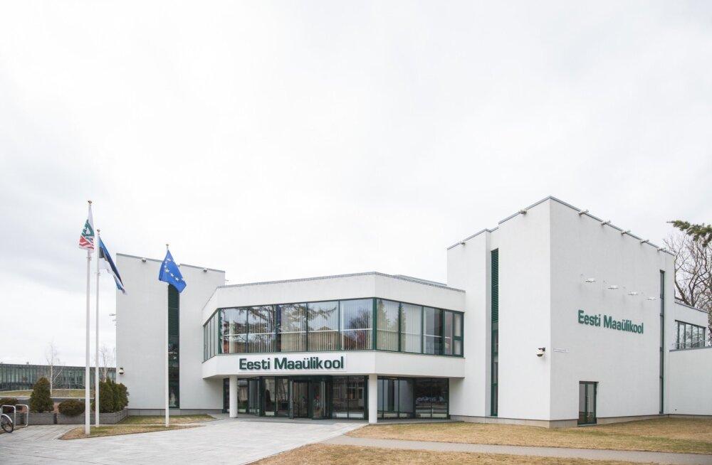 Eesti Maaülikooli peahoone ja ühiselamu Torn