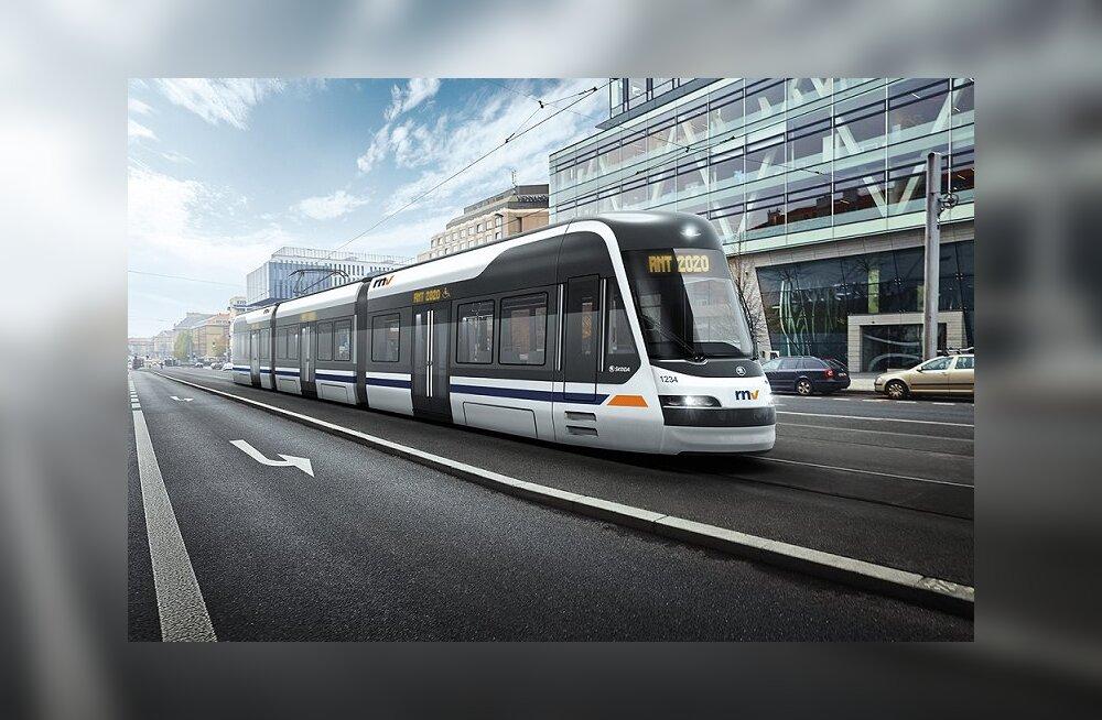 Saksamaa trammidele pannakse Eestis arendatud Skeletoni energiasalvestid