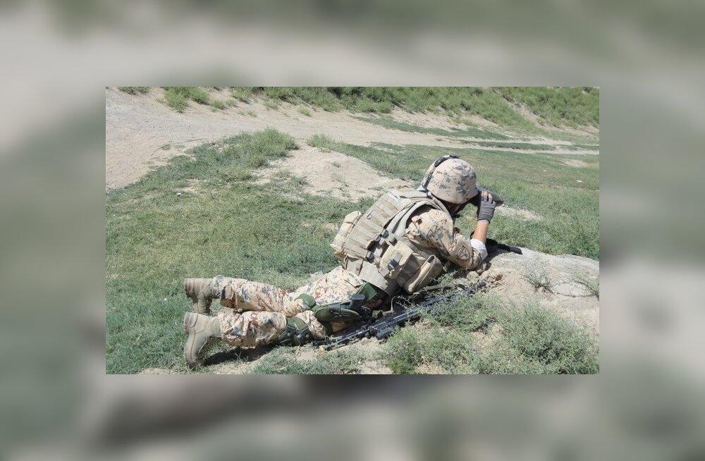 Kaitseväelane Afganistanis