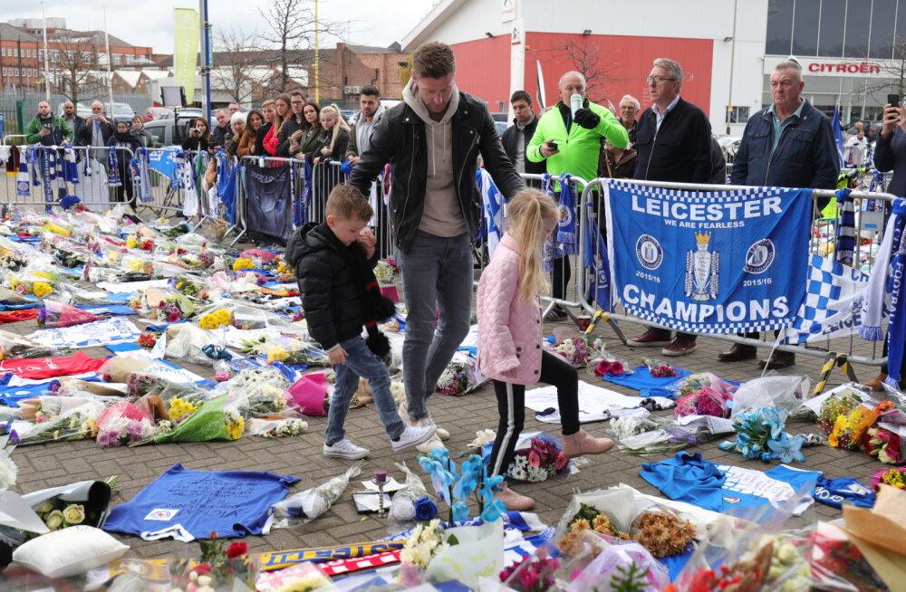 Endine Leicesteri mängija Paul Gallagher  avaldasb hukkunutele austust