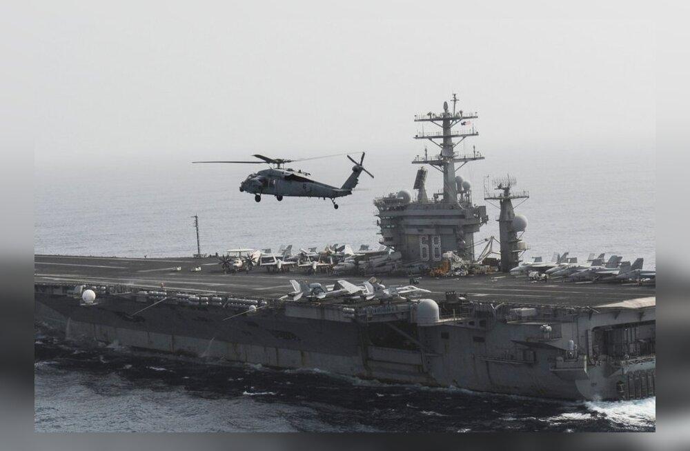 USA lennukikandja liigub Süüriale lähemale