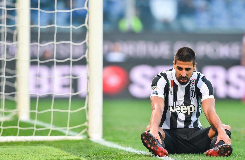 Pettunud Sami Khedira (Juventus)