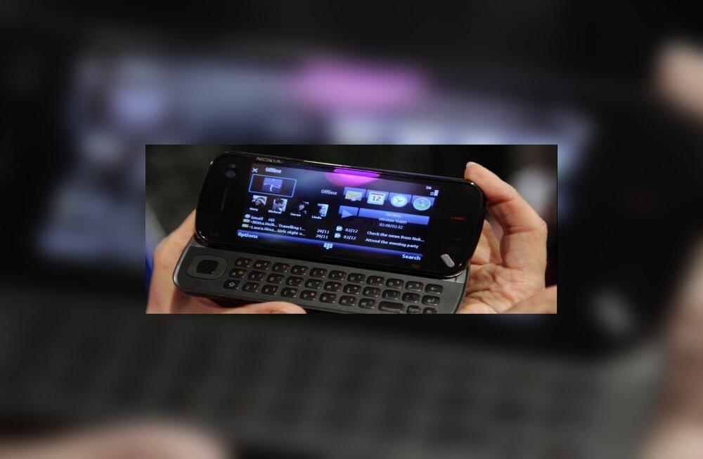 MeeGo seab kahtluse alla Nokia pühendumuse Symbianile (pildil Symbiani seade N97)