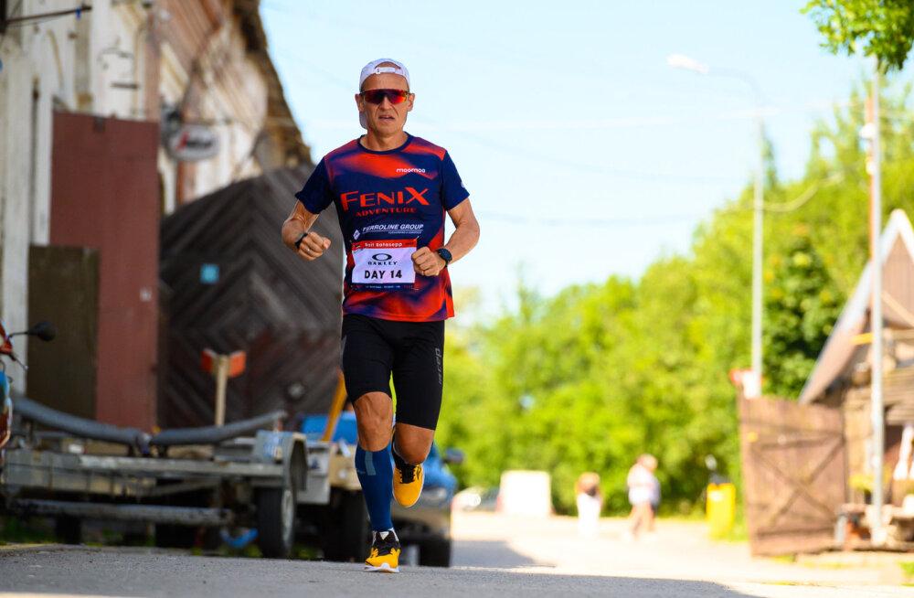 5 maratoni veel minna: Ratasepp jõuab ulmelise katsumuse lõpule üha lähemale